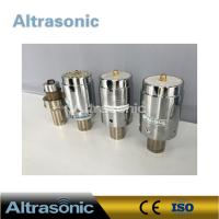 China Branson 902J Ultrasonic Welding Transducer 40 Mm Ceramic Disc Diameter wholesale