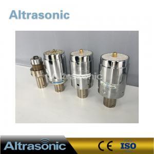 China Branson 902J Ultrasonic Welding Transducer 40 Mm Ceramic Disc Diameter wholesale