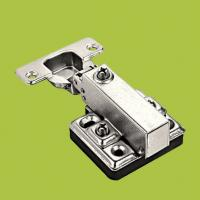 China hot sell furniture hardware  half-overlay hinges ,components for cabinet wholesale