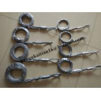 China Cable stockings,Heavy Duty Split Grips,Standard Fiber Optic Pulling Grips wholesale