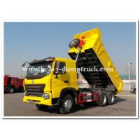 China SINOTRUK HOWO A7 Heavy Duty Dump Truck 6x4 20 CBM With Triangle Tubeless Tires wholesale