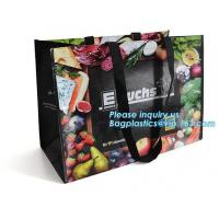 China Best Selling Custom Large Capacity Waterproof Foldable Tnt Non Woven Bag, High Demand Products Hot Sale Laminated Recycl wholesale