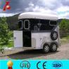 China Custom horse float,2 horse angle horse float wholesale