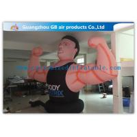 China Air Man Inflatable Muscle Man Model Advertising Strong For Party , Club wholesale