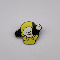 China 1.2mm Minimum 2D Soft And Hard Enamel Pins With Butterfly Clutches wholesale