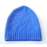 Buy cheap Autumn Warm Merino Wool Cashmere Hat , Adults Women Knitted Crochet Rib Hat product
