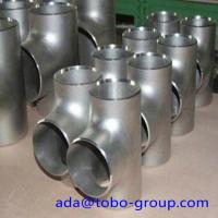 China SCH 80 ASTM A403 WP316L Stainless Steel Equal Butt Welding Tee For Gas Oil wholesale