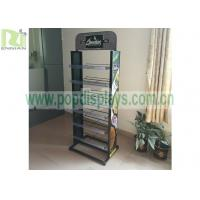 China 2 sides metal display shelf for greenfield ,metal wite racks for displaying merchandise can OEM or ODM wholesale