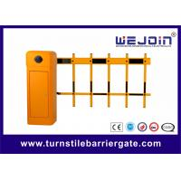 China Two Fence Boom Automatic Traffic Barriers , Car Park Barrier Gate with Arms wholesale