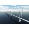 China Great Stability Steel Suspension Bridges railway traffic for Longest Spans wholesale