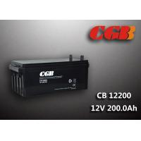 China 200AH CB122000 ABS Plastic V0 Solar Lead Acid Battery Non Spillable construction wholesale