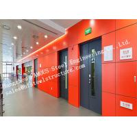 China Surface Painted Standard Size Industrial Fire Rated Doors 3 Hours Fire Resistant on sale