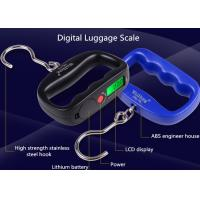 China High Strength Belt Digital Luggage Weighing Scale With Value Lock Function wholesale
