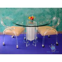 China FU (68) acrylic counter height dining set wholesale