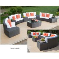 China 10piece - PE wicker rattan weather resist 4 loveseat 5 side table sofa collection-9216 wholesale