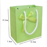 China Ivory cardboard paper shopping bag any color printing any size wholesale