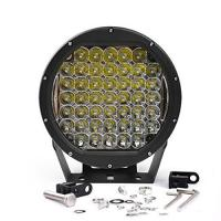 China 10 Inch Round 225W Intensity Led Spot Light For offroad 4x4 JEEP FORD TOYOTA Pickup Light Bar Driving Headlight Green wholesale