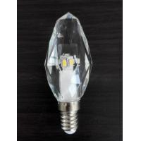 China 3W LED Crystal Candle Light K5 crystal housing 220V E14 dimmable wholesale