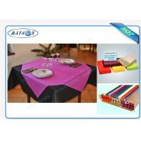 China Slices / Rolls Packed Non Woven Polypropylene Tablecloth for Catering Business wholesale