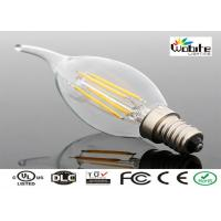 China Residential LED E14 Bulb Filament Lamp 6W 520 Lumen Low Power Consumption on sale