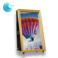 China Portable Photo Booth Latest Selfie Mirror Photo Booth Kiosk Prices wholesale