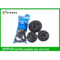 China Duarable Kitchen Scrub Pads , Stainless Steel Pot Scrubbers Multi Functio wholesale