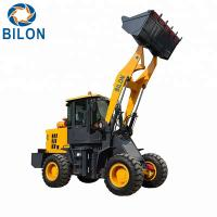 China High Capacity Wheel Loader Machine 2 Ton Mini Wheel Loader ZL928A CE Certificate on sale