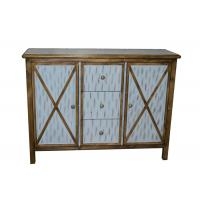 China Antique Commercial Hotel Quality Furniture Wood Lobby Consoles With Three Drawers wholesale