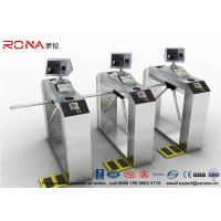 China Pedestrian Access Control Barriers ESD Face Recognition System Fingerprint Access Control Turnstiles wholesale