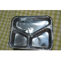 Quality Carry Out Aluminium Foil Container / Aluminium Foil Food Containers Thickness 0.055mm for sale