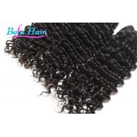 China Goddess Deep Wave 22 Inch / 23 inch Indian Virgin Human Hair Extensions Weave wholesale