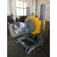 China L Shaped Welding Positioner With 600mm Dia Table / Hydraulic Lifting Stroke wholesale