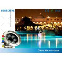 China 3W 82*120  SAL062A3 LED underwater pool light Life Span >50000 Hours wholesale
