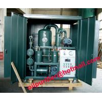China High vacuum used insulation oil purifier,ZYD Double-Stage vacuum transformer oil filter wholesale