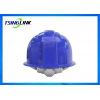 China 4G Intelligent Construction Worker Helmet With Wireless Camera Three Proof Design wholesale