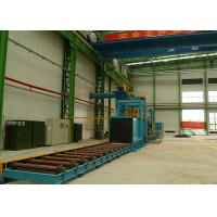 Buy cheap High Power Roller Conveyor Shot Blasting Machine For Steel Plate Materials from wholesalers
