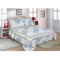 "China Disperse Printed Home Bed Quilts Durable With 1"" Distance Quilting Crafts wholesale"