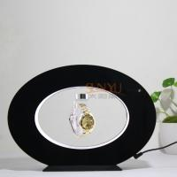 China 3mm Advertising Display Stand Floating Magnetic Display Wirst Watch Oval Shaped wholesale