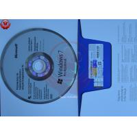 China Microsoft OEM Windows 7 Operating System Full Version 32 Bit / 64 Bit English wholesale