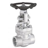China Two Piece Forged Steel Gate Valve API ISO CE GOST TS Certification wholesale