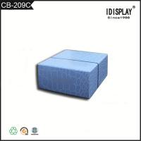 China Promotional Beautiful Blue Cardboard Boxes , Fancy Paper Gift Box For Hand Cream wholesale