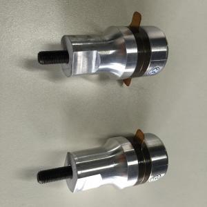 China 35Khz Ultrasonic Welding Transducer , 2 Ceramics Spot Welder Sewing Machine wholesale