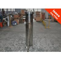 China Low Pressure Pocket Single Bag Filter Carbon Steel Housing Dust Collector wholesale