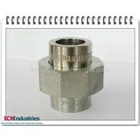 China 3000 lbs Forged steel pipe fittings union socket on sale