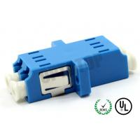 Quality UPC End Face Fiber Optic Accessories , Plastic Fiber Optic Cable Adapter for sale