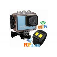 China High Definition Customized Waterproof Action Cameras with Remote Control 1050mAh Battery wholesale