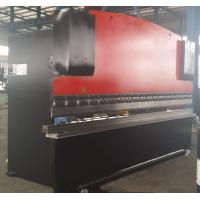 China 6mm V Groove CNC Hydraulic Press Brake Machinery for For Bending Steel Plates 160T / 3200mm wholesale
