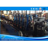 China 201 SS Tube Mill Machine , Stainless Tube Mills PLC Control 1.5mm Thickness wholesale