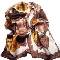 China Silk Ruffle Scarves (LC238) wholesale