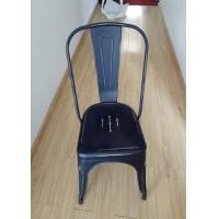 China Modern Metal Tolix Chair With Backrest , Tolix High Back Stool For Home / Restaurant wholesale